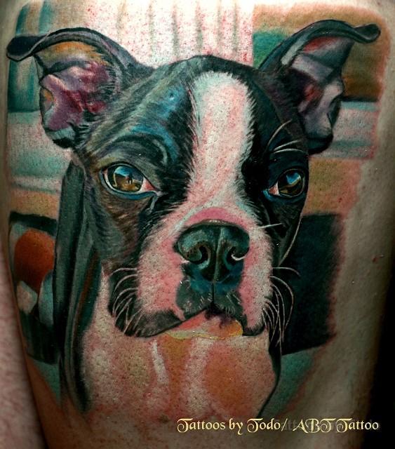 Tattoos for Funny dog tattoos